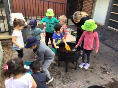 Finding the fun in sustainability with children